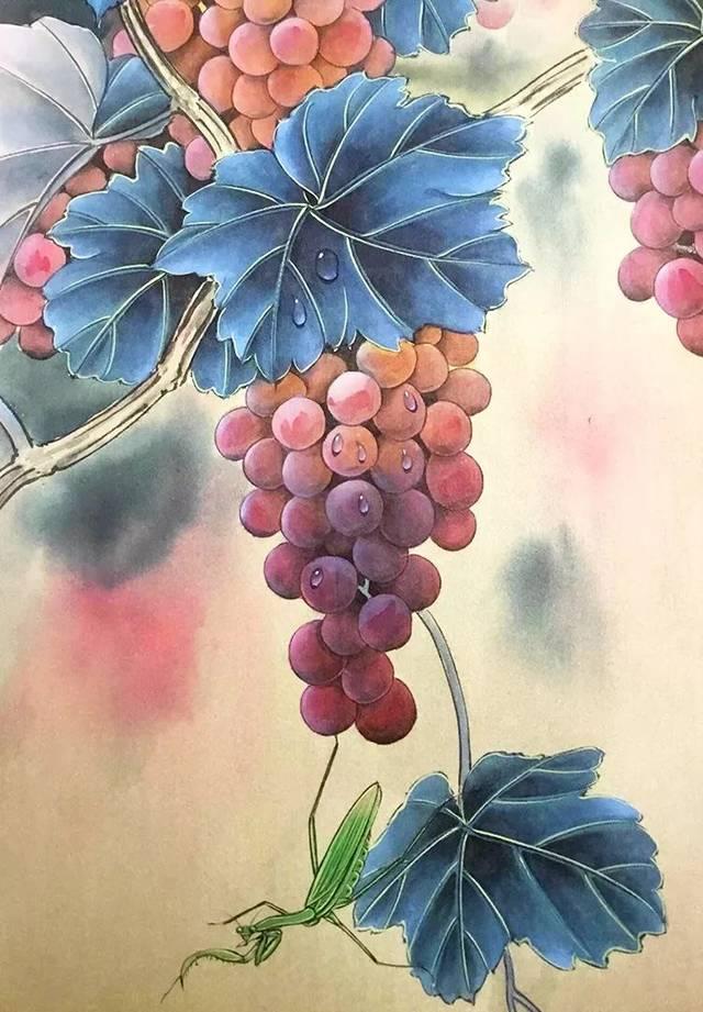 【有礼心醉】萌猫,飞鸟,秋蝉,豆浆,松鼠,蜻蜓……这工笔画.美到有节磨草木步奏图图片