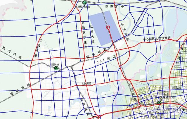 胶东临空经济区路网规划