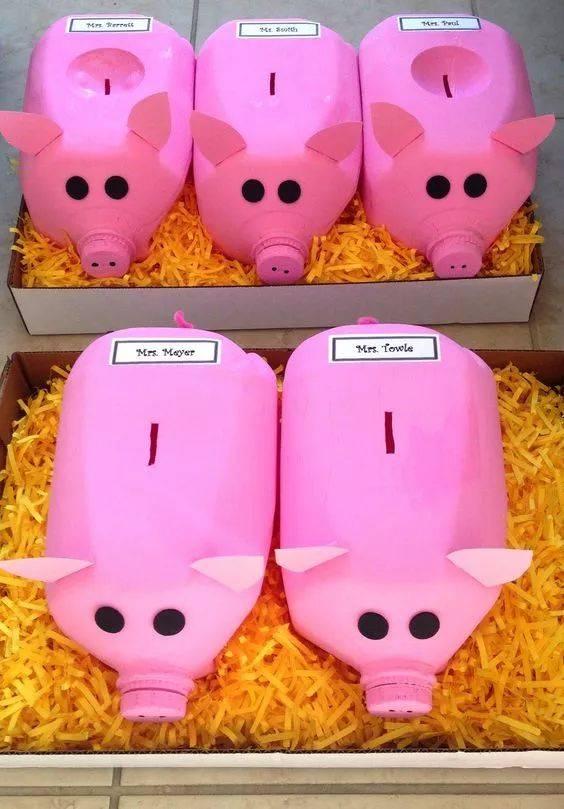 幼儿园猪年手工制作