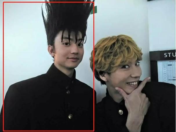 伊藤健太郎在《我是大哥大》的形象是这样的