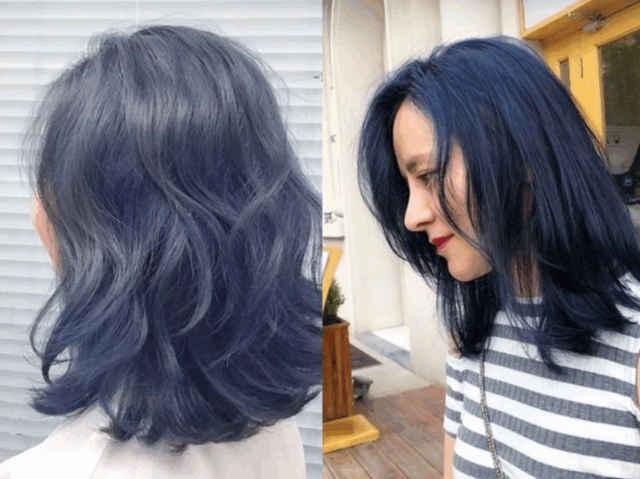 短发看起来好看太多,但是想要更加的时髦,还需要搭配适合的发色,2019图片