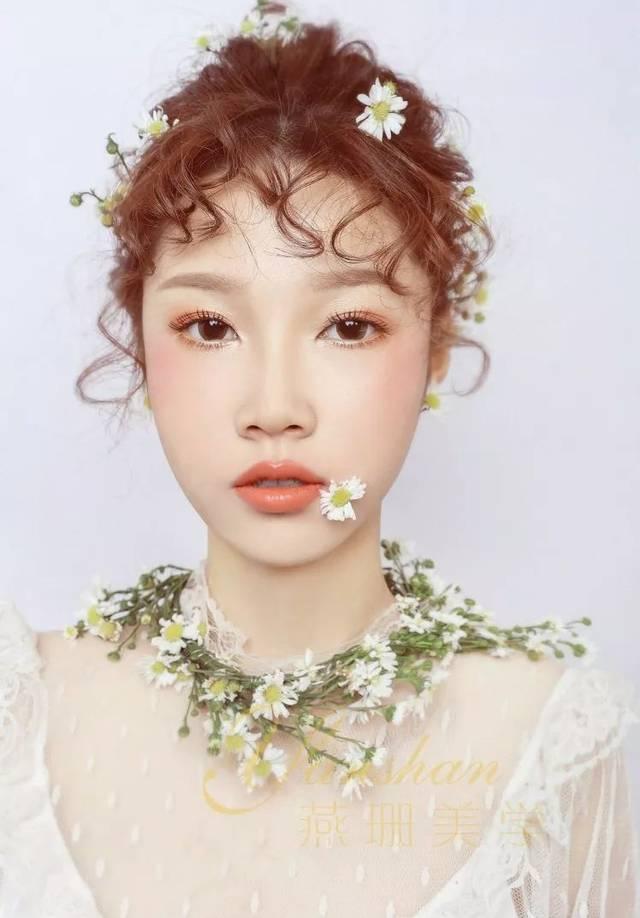 2019复古奢华新娘造型组图分享图片