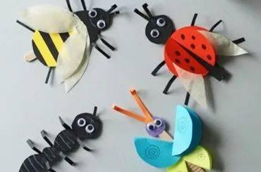 幼儿幼儿园创意手工制作虫子