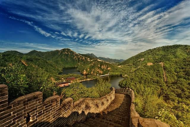 国家眼睛手绘中国