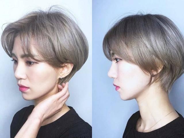 今年流行什么发型?2019年换发型选齐耳短发,最好看!