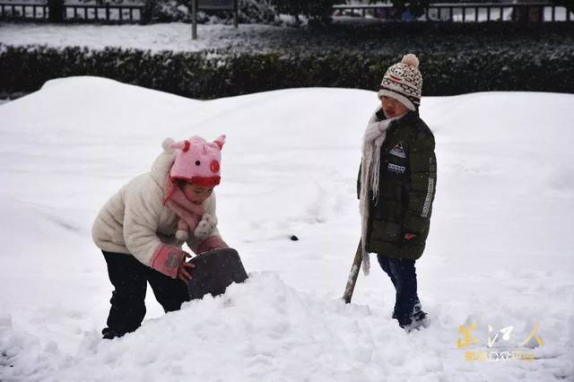 【高清大图】2018年芷江第一场雪终于如约而至!最美雪景全在这里!