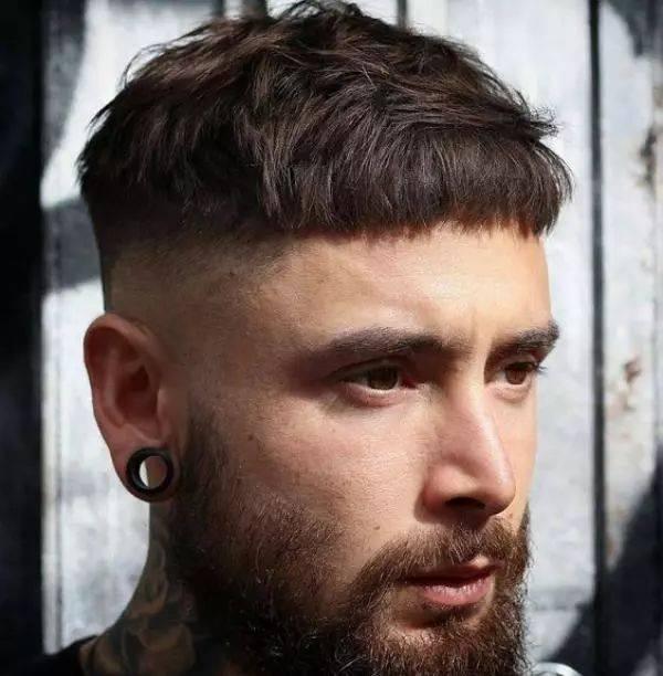 许多时下型男们的青睐,而 2019 年的发型趋势其实也同样以短发为主,但图片