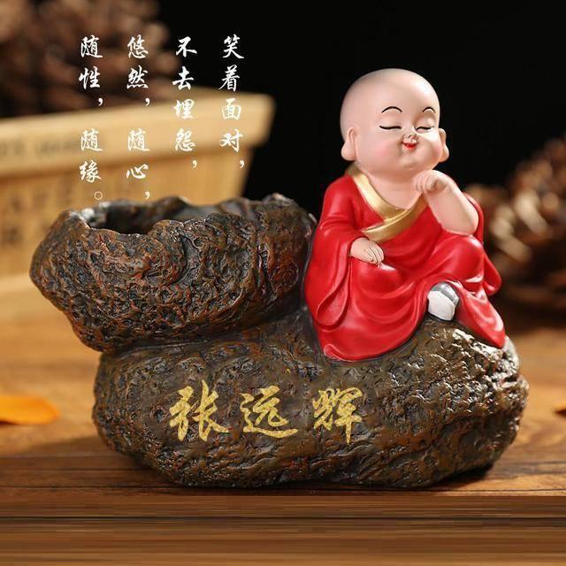 2019佛系智慧小和尚微信姓氏头像,新的一年祝您全家富贵安康