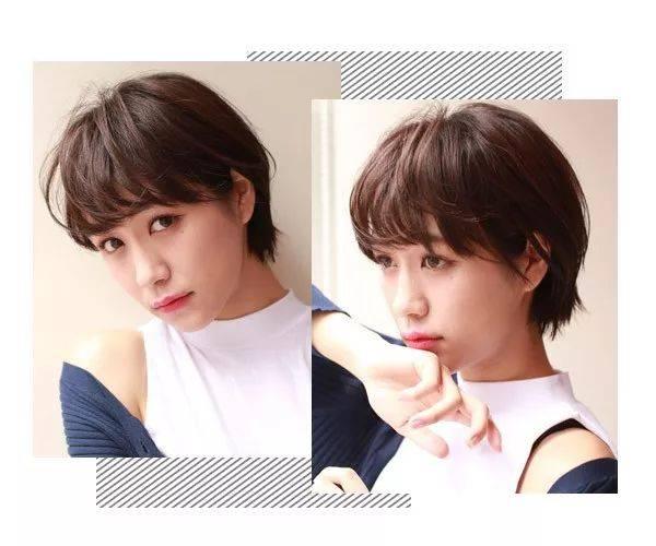 12款超美的女生短发发型来了图片