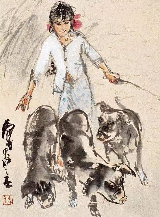 大师画猪 | 六畜之首,诸事亨通.图片