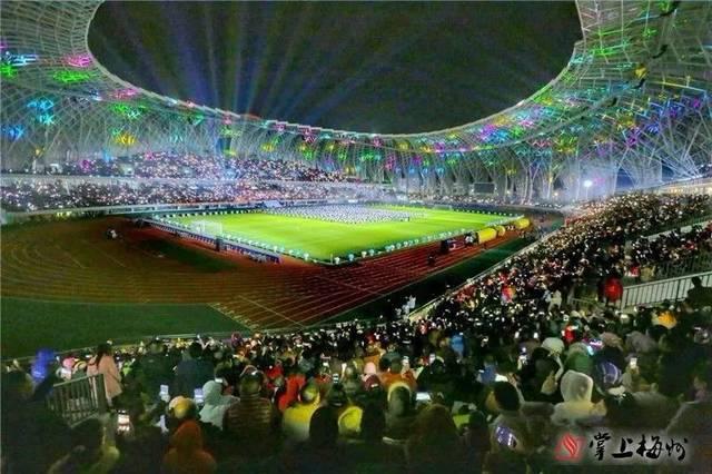 震撼!梅州首届客家杯国际足球邀请赛开幕惠堂体育场首秀!