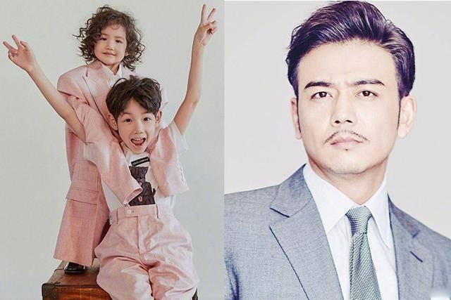 本以为张亮林志颖的儿子够帅了,没想到杨烁儿子更帅,女儿也漂亮