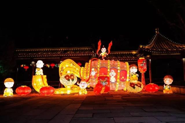 有一种花灯会,叫做2019台儿庄古城新春花灯会