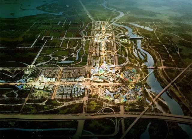 华侨城欢乐谷落户西咸新区图片