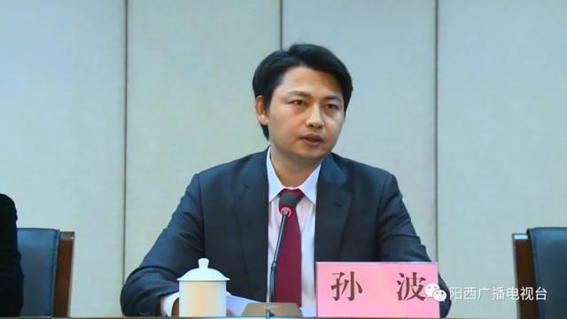 阳江孙波_孙波同志任中共阳江市委常委和阳西县委书记