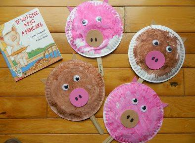 纸盘猪的手工制作