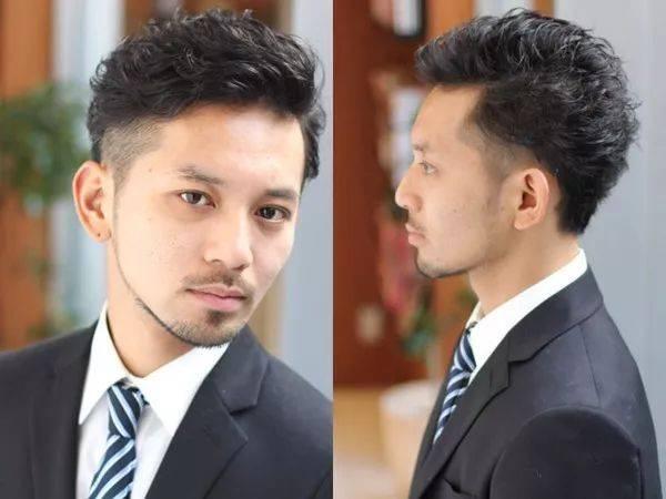 最喜欢的男生发型top3 两侧剃短,中间头发头发上翘的莫西干发型,最