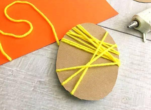 蛋纸板手工制作