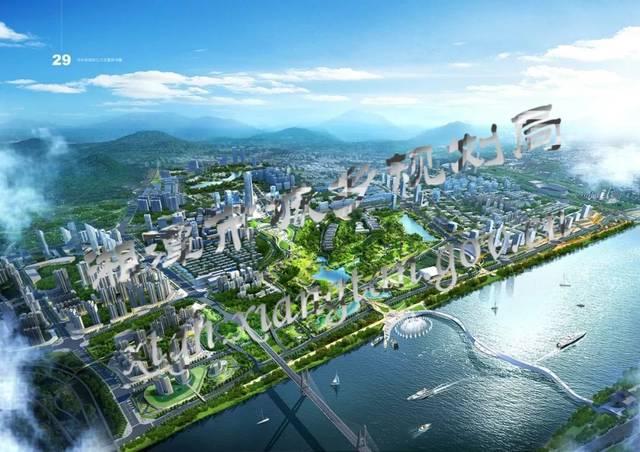 """湘潭公示""""一江两岸""""城市设计!河东,河西将迎来大发展!"""