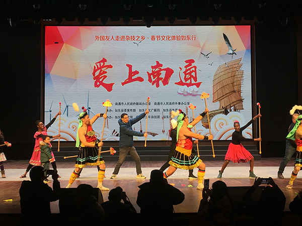 爱上南通系列活动之 走进如东县感受杂技之乡魅力
