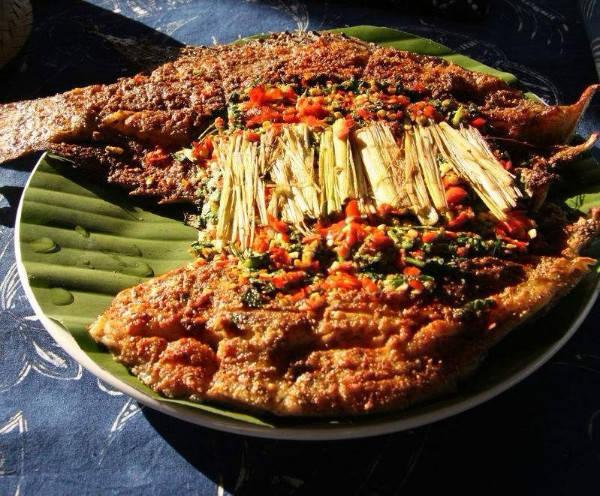其中的香茅草烤罗非鱼,用香茅草做调料,把腌制入味的罗非鱼捆裹好,用红太狼保护懒羊羊图片