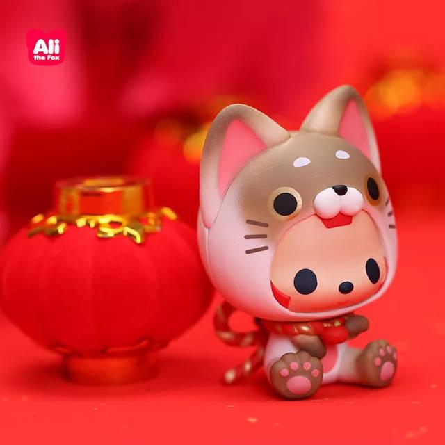 包 钱 多 福 多 好 运 到 3个新年手办 6个新年红包 这么可爱的阿狸 1图片