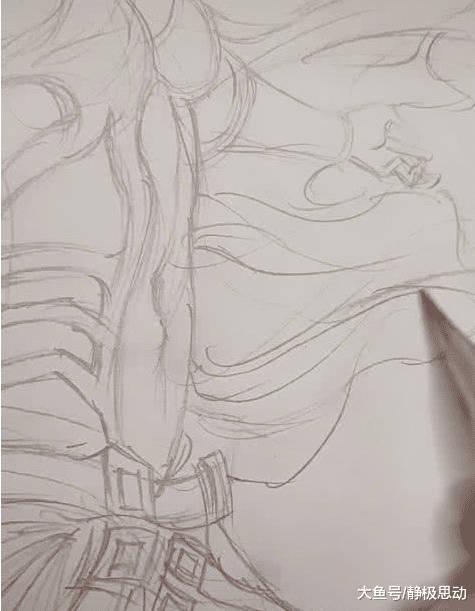 亚索手绘怎么画