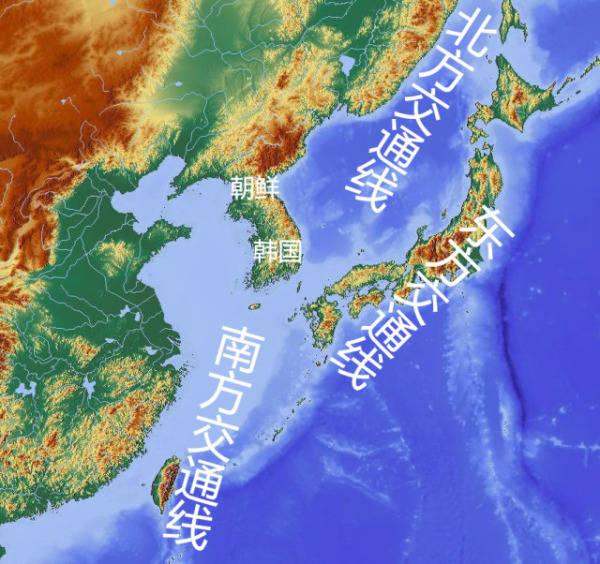 (朝鲜半岛夜晚灯光图)