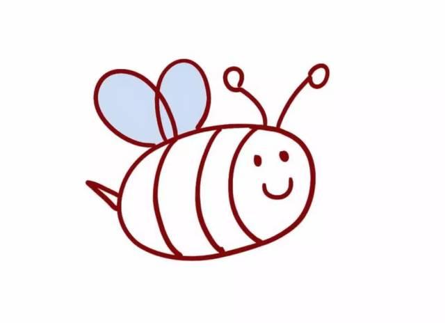 教你画惹人喜爱的胡巴,小蜜蜂图片