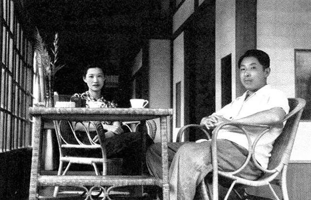 张学良与赵四小姐在台湾.
