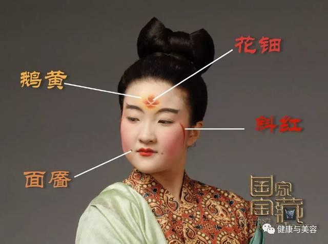 唐朝妆面设计图