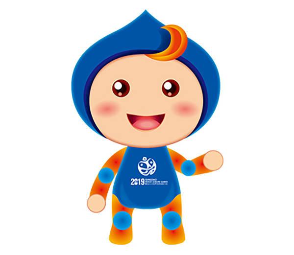 高清组图:青岛(莱西)2019世界休闲体育大会会徽,吉祥物,形象大使揭晓