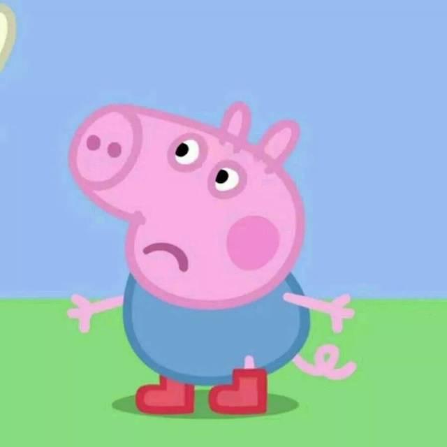 小猪佩奇情侣头像