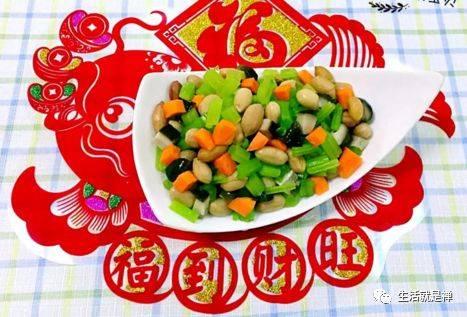 日子年夜饭吉祥来也!让春节操作真正素食的方法,红红火火v日子年!旺铺装修成为菜单图片
