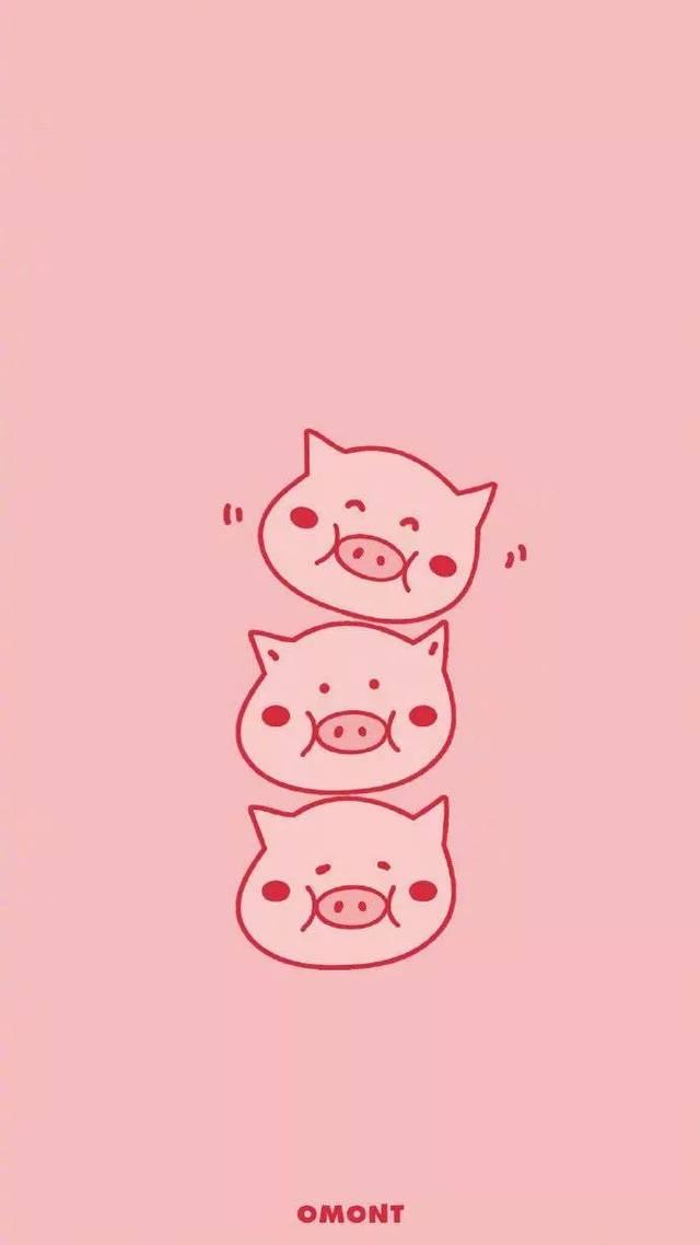 猪年,不换一个猪事顺利的壁纸,那就太不像话了!图片
