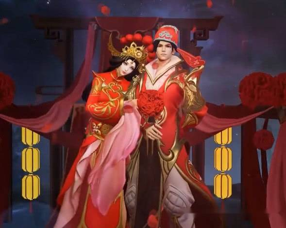 王者榮耀:網評最好的情侶皮膚,一生所愛與大圣娶親特效圖!圖片
