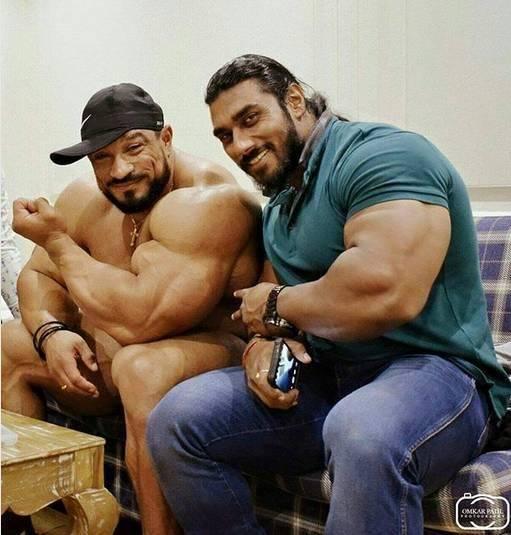 印度男模大根_他是印度健身界的\