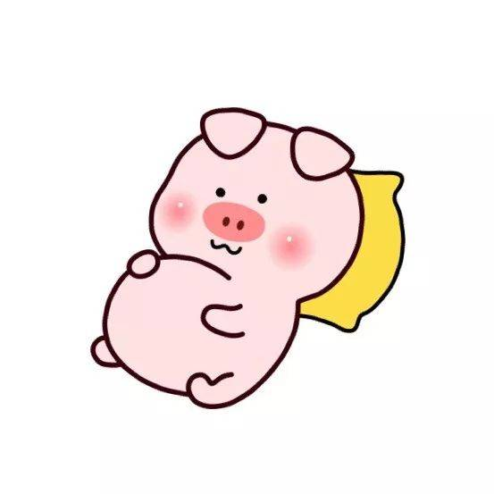 屁屁猪情侣头像_精致的猪猪男孩女孩,就应该有一个专属的猪猪头像