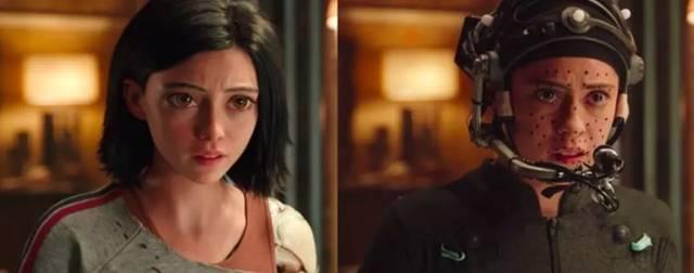 在进行阿丽塔表演捕捉的罗莎 因为人在表达情感时,肢体动作会带动表情图片