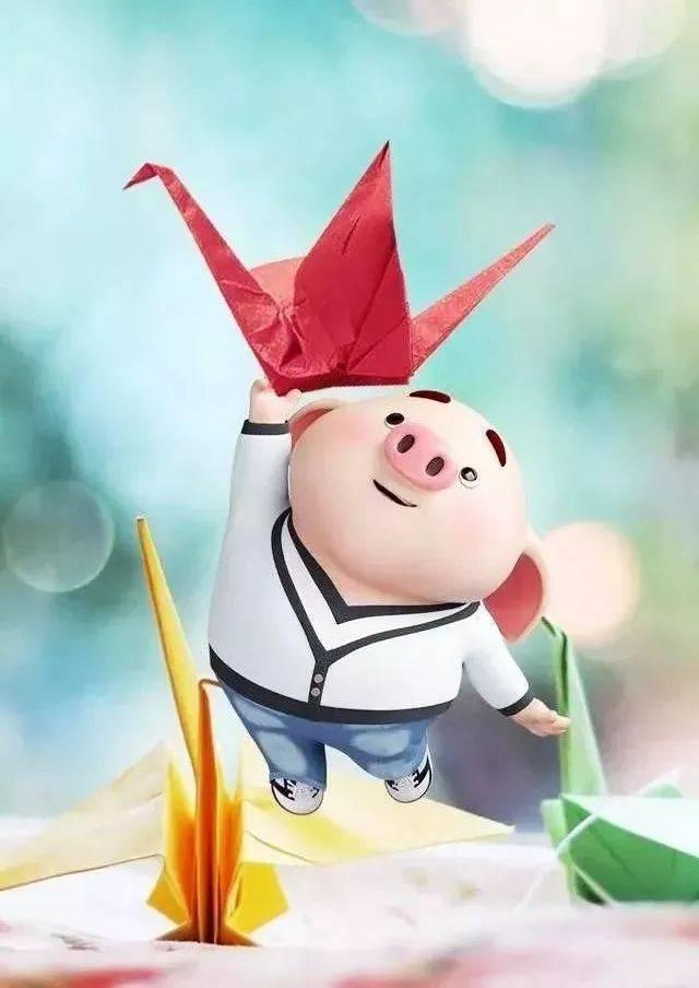 正月初七,最有格调的猪年祝福,祝开业大吉,工作顺利图片
