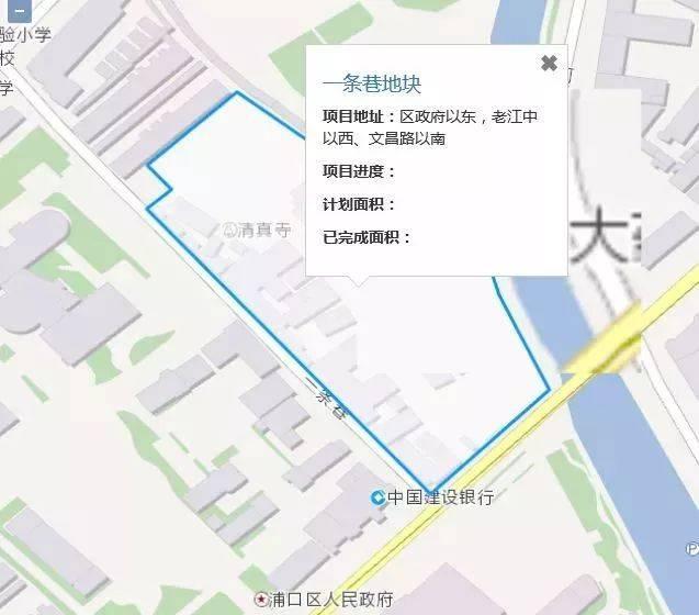 此外,附2019年,江北新區拆遷項目: 1,2019 | 浦口 | 一條巷地塊 區圖片
