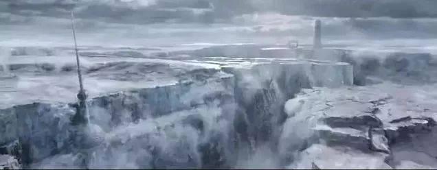《流浪地球》幕后制作曝光!光概念图就画了图片