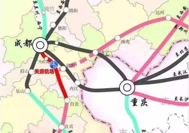 重庆六纵线效果图