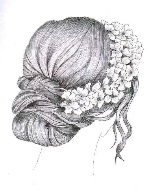 赶紧来学习吧 其实画头发最重要的是分组 根据光源 分出黑白灰关系
