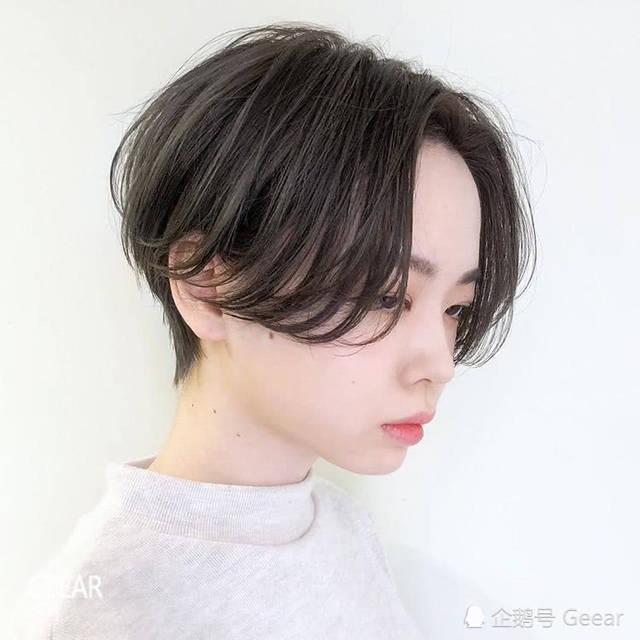 日系气质短发灵感:看完这个发型师的ins,你也想把秀发图片