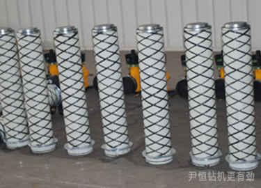 气腿式气动锚杆机正确的维修与保养,有利于减少钻机故障图片