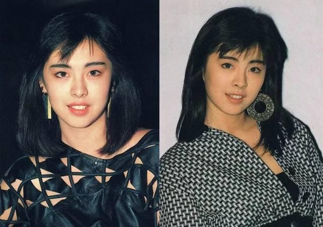 而在八九十年代,港星女神们的标配就是大耳环,放到现在看依旧时髦的图片