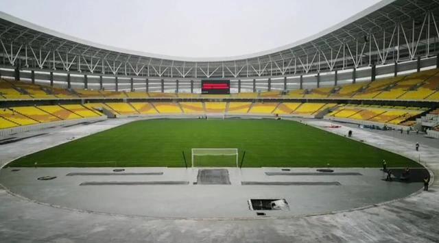 3月1日,武汉五环体育中心正式投入使用!迎来卓尔国安交锋!