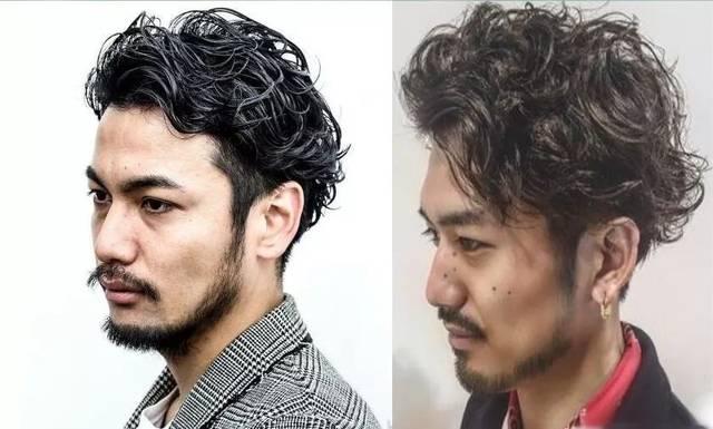2019年男士流行卷发发型 满头小卷烫发时尚度up!图片