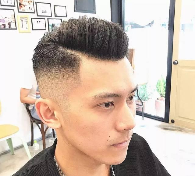 亚洲男士发型大全 毛寸的几种发型图片
